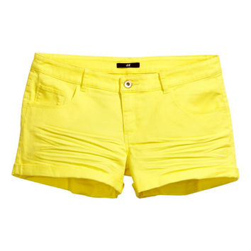 Short Twill Shorts  from H M