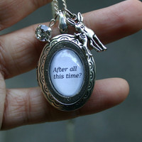 After all this time Always Lily and Snape silver by FabledManor
