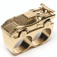 Car 2 Finger Ring