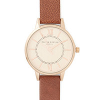 Olivia Burton Luxe Elegant in Any Occasion Watch in Bark