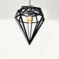 MONOQI | Large Döden Lamp - Black