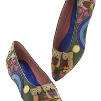 Jeffrey Campbell Owls On Watch Wedge