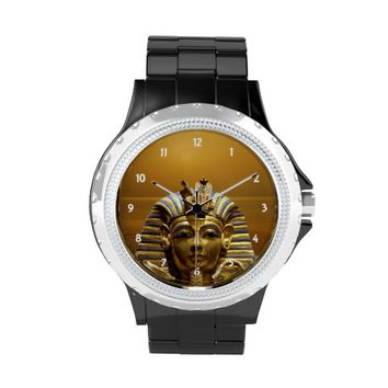 Egypt King Tut Rhinestone Watch