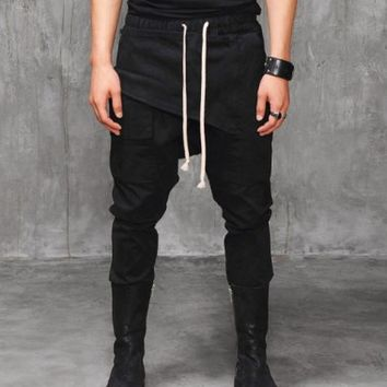 VANDALIQUE Drop Crotch Murray Tapered Trouser