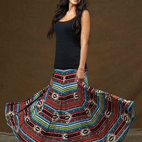 Southwest Stripe Skirt