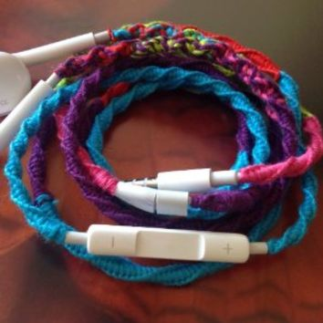 MyBuds Tangle Free Headphones w/mic 80s -Retro Remix- for iPhone 5, 5c, 5s, 4, 4c AND all Phones AND…