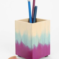 Dip-Dye Pencil Cup - Urban Outfitters