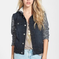 Free People Denim & Knit Jacket