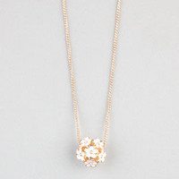 FULL TILT Daisy Ball Necklace 242814621 | Necklaces | Tillys.com