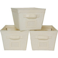 Mainstays 3-Pack Medium Bins
