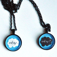 TFIOS Okay/Okay Necklace Set
