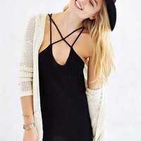 Project Social T Cross-Front Tunic Top - Urban Outfitters