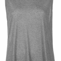 Swing Tank Vest by Boutique - Grey Marl