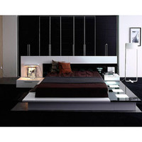 Impera Contemporary Lacquer Platform Bed - VIG Furniture | Beds VGWCIMPERA-BED/3