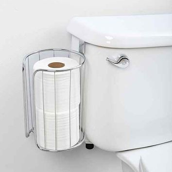 Double-Roll Over-The-Tank Toilet Paper Holder  Urban Outfitters