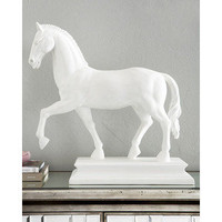 White Horse Statue - Polyvore