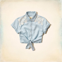 Tecolote Canyon Tie Front Shirt