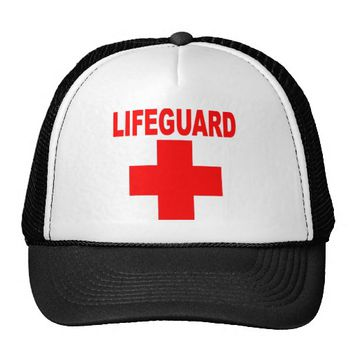 LIFEGUARD Red Logo Lifeguard