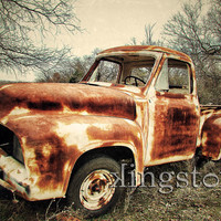 12x18 fine art photography Just waiting Old by KingstonCreations