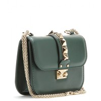 Lock Small leather shoulder bag