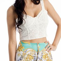 crochet bustier- Crop Tops | GoJane.com
