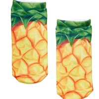 Good Seed Ankle Socks - Pineapple