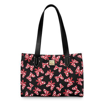 Minnie Mouse Bow Small Shopper Bag by Dooney & Bourke - Black