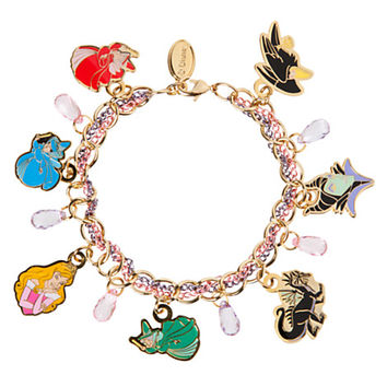 Sleeping Beauty Charm Bracelet