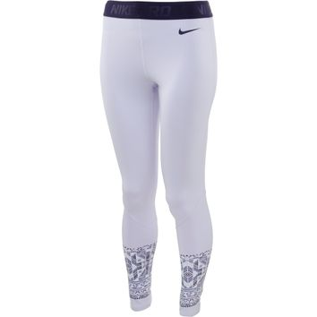 Nike Womenx27s Pro Hyperwarm Mosaic Tights