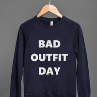 BAD OUTFIT DAY SWEATER