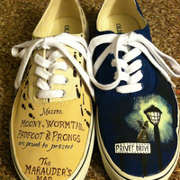 Harry Potter Inspired Men's Shoes