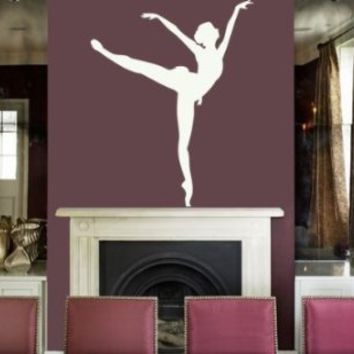 Housewares Vinyl Decal Ballerina Dancing Home Wall Art Decor Removable Stylish Sticker Mural Unique…