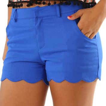 One More Wave Shorts Royal Blue