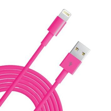 Eaglewood(TM) Extra Long Extended 10 Feet 3M 8 Pin Data Sync&Charging Cable USB Charger Cord…