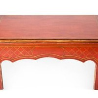 One Kings Lane - Top Tables - Newcomb Coffee Table, Red
