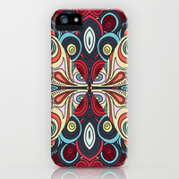 Summer Swirl iPhone & iPod Case by DuckyB (Brandi)