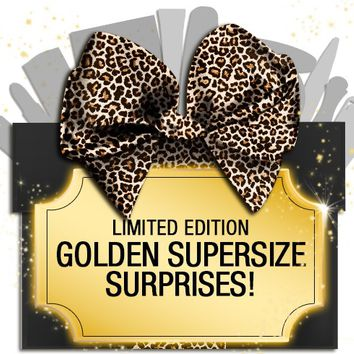 *SP STAR DEAL! Over 80% OFF Golden Glamm Box - Supersize EOYMS Surprises ONLY 100 AVAILABLE - Mirenesse