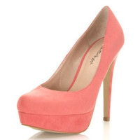 Sassy Coral Court Shoe - Shoes - Miss Selfridge