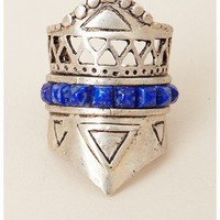 A Peace Treaty Tacana Silver Ring