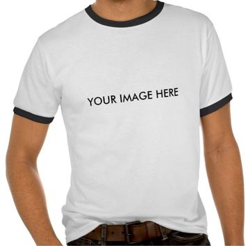 Create Your Own Custom Ringer Tee Shirt