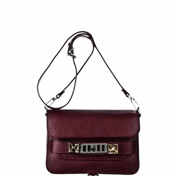 Proenza Schouler PS11 Mini Classic - PS11 - Burgundy