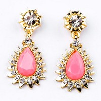 Pretty Teardrop Drop Earrings