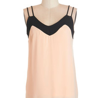 ModCloth Mid-length Spaghetti Straps Tanks to You Top