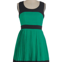 Dream a Little Green Dress | Mod Retro Vintage Dresses | ModCloth.com