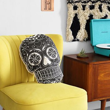 Sugar Skull Pillow  Urban Outfitters