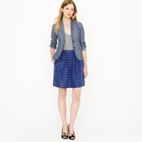 STRIPE TAFFETA MINI