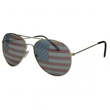 All Enemies Foreign and Domestic Longshanks Aviator Shades
