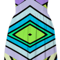 Retrospect Dress created by duckyb | Print All Over Me