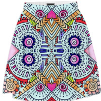Fiesta Skirt created by duckyb | Print All Over Me