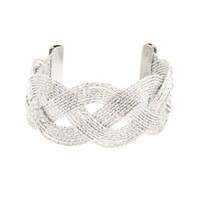 TWISTED & BRAIDED CUFF BRACELET